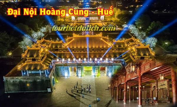 Đại nội hoàng cung Huế triều Nguyễn