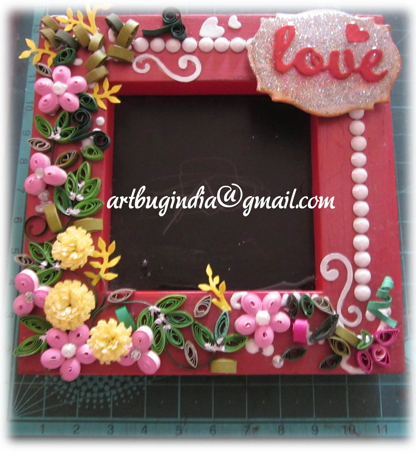 Artbug... the Crafter\'s Island : Shoma: My Smallest Quilled Picture ...