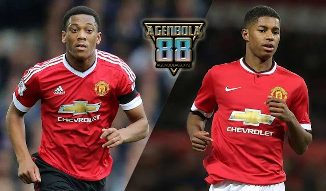 Anthony Martial dan Marcus Rashford
