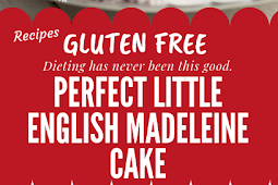 LITTLE ENGLISH MADELEINE CAKE (Low Carb & Gluten free) #glutenfree