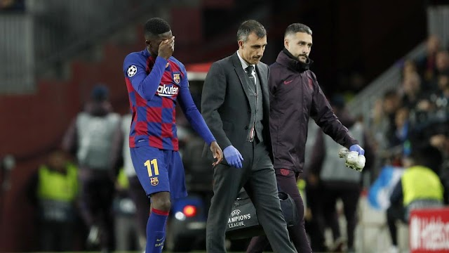 Ousmane Dembele penciled out of Euro 2020 competition after hamstring surgery