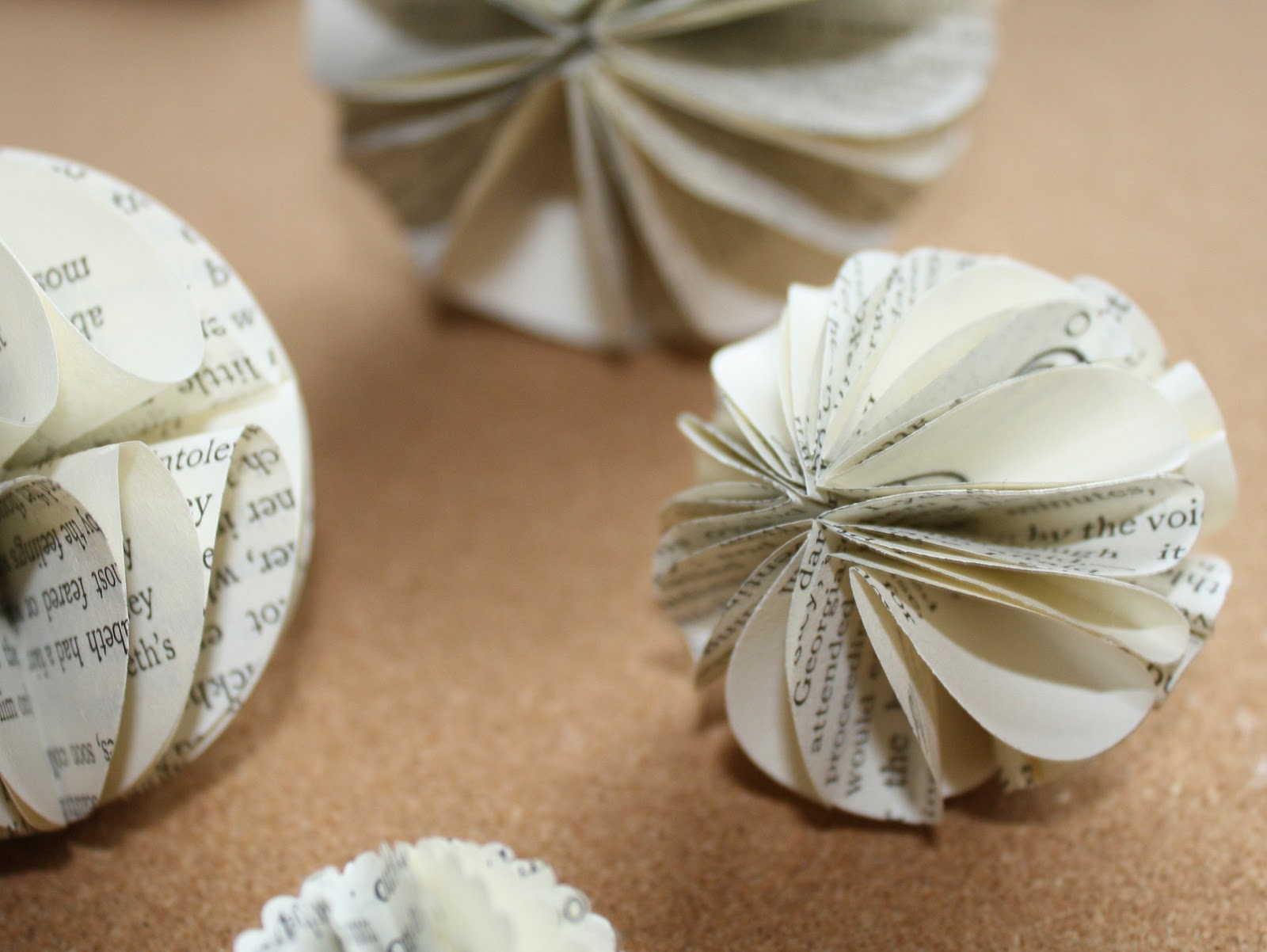 Rhymes With Magic: Yet Another Paper Ball Ornament Tutorial
