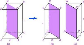 Bangun ruang prisma segitiga