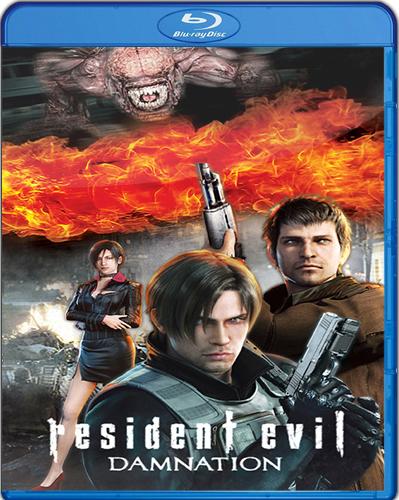 Resident Evil: Damnation [2012] [BD25] [Latino]