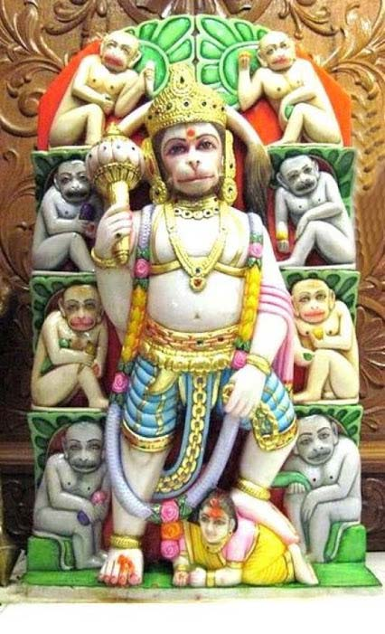 Ram Bhakta Hanumanji Shivji Wallpaper