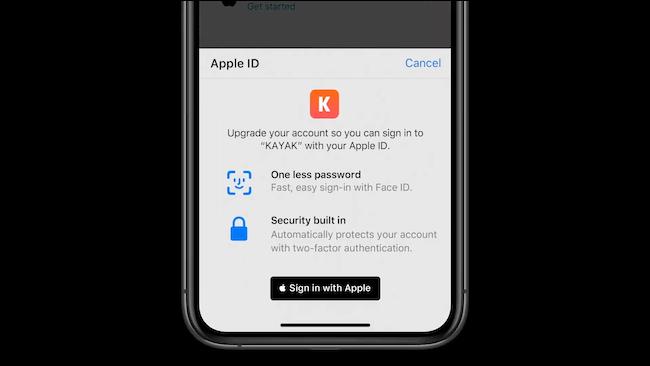 نقل تسجيل الدخول إلى تسجيل الدخول مع Apple
