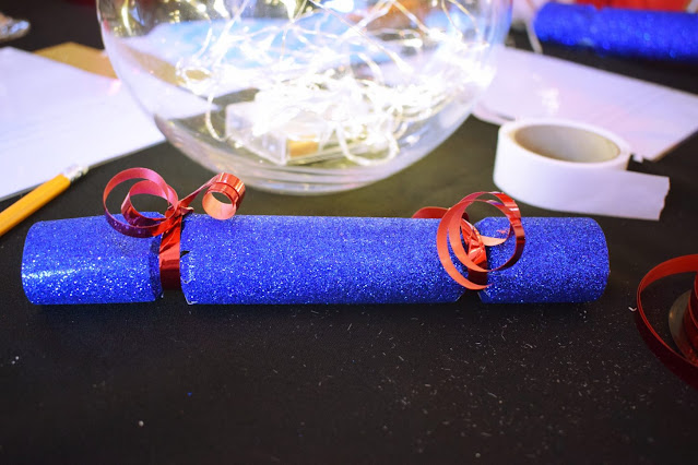Christmas crafting at the Viking Arty Party Christmas advent calendars with Tea and Crafting