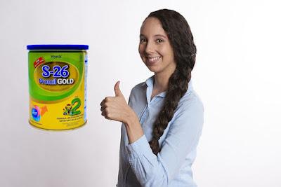 S26 Gold Tahap 2, Susu Premium Tinggi Protein