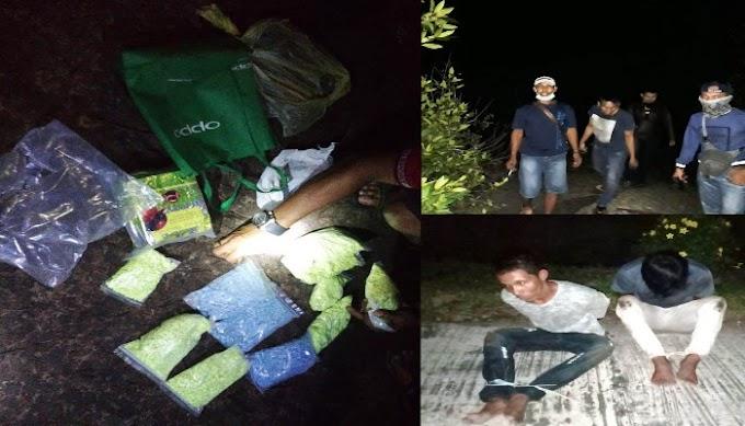 Lanal Dumai Gagalkan Penyelundupan Narkotika di Desa Selat Baru