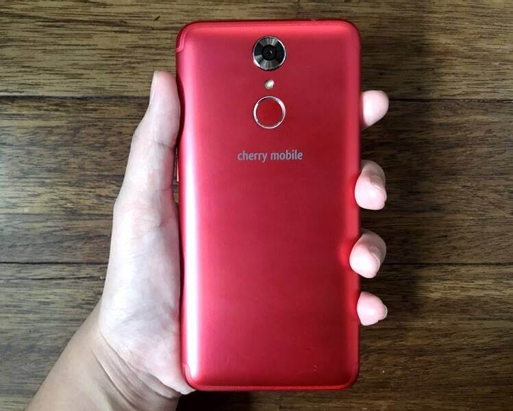 Cherry Mobile Flare S6 - Back