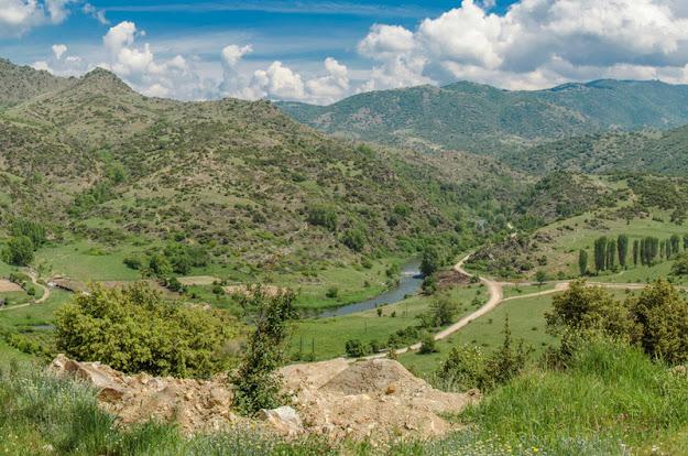 Crna River near Skochivir village