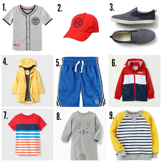 Toddler Boy Current Style Favorites