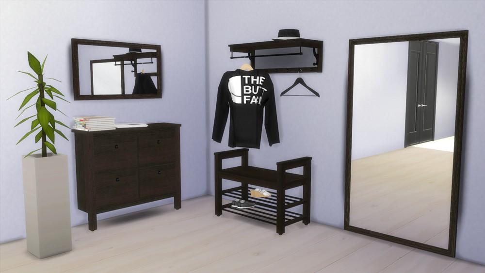 Sims 4 Cc S The Best Ikea Hemnes Hallway Set By Natatanec
