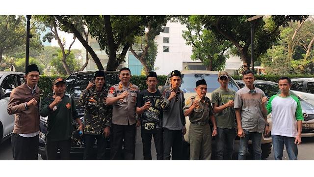 Selesai Penuhi Nazar, Anggota Banser Pulang ke Musi Rawas Dikawal Polri