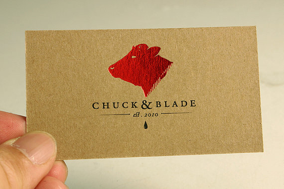 Eco Friendly Recycled Paper Business Card