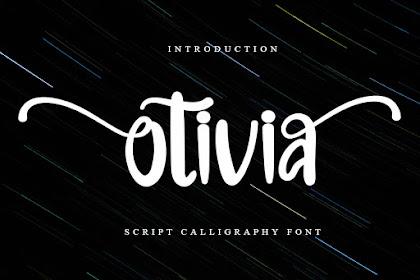 Otivia - Premium Script Font