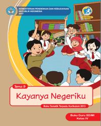Buku tema 9 Guru Kelas 4 k13 2017