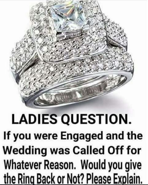 Wedding Ring Resale 42 Luxury I heard giving back