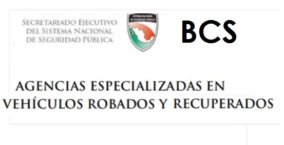 BCS Agencias Especializadas en Vehículos Robados