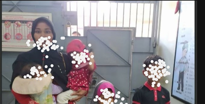 Ibu Asal Simpang Ulim Bawa  Anak  Jalani Hukuman Penjara