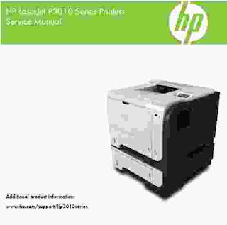 HP LaserJet P3010 Service Manual