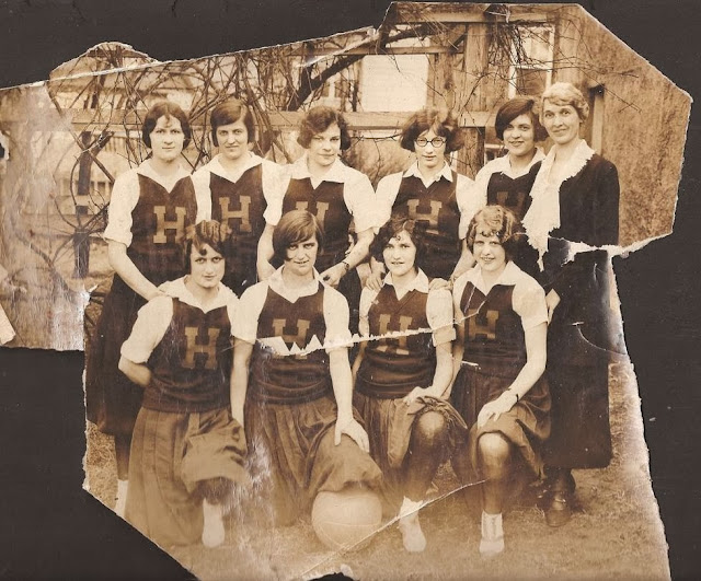 Harrisonburg Teachers College Basketball Team in Tennessee 1925