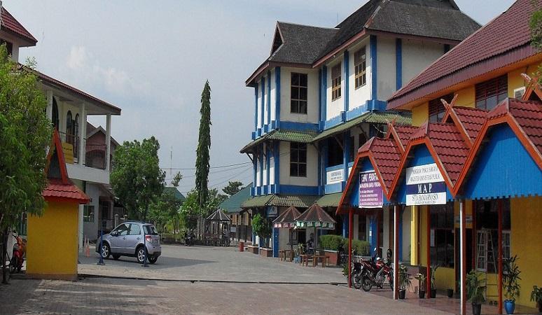 Gedung STIA Bina Benua Banjarmasin.