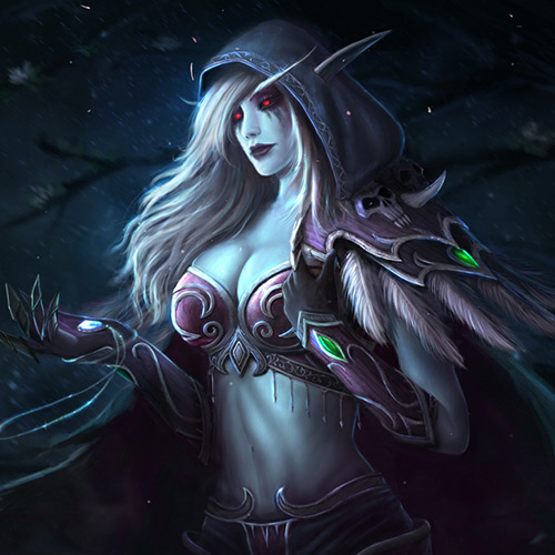 Sylvanas Windrunner Wallpaper Engine