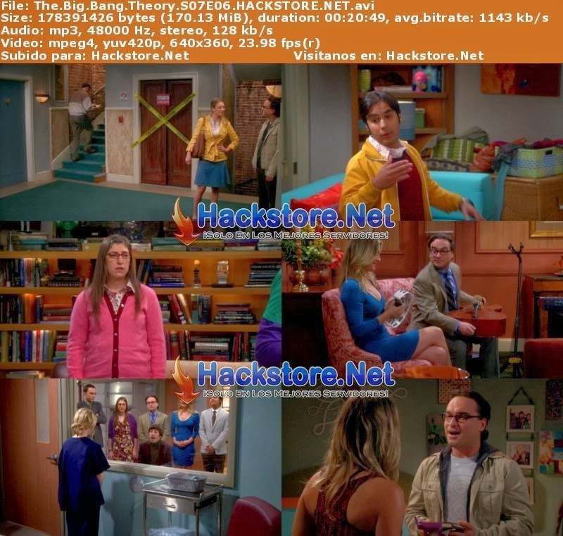 Captura The Big Bang Theory Temporada 7