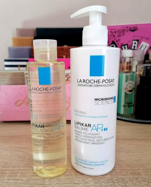 huile lavante AP+ et baume relipidant AP+M / La Roche Posay