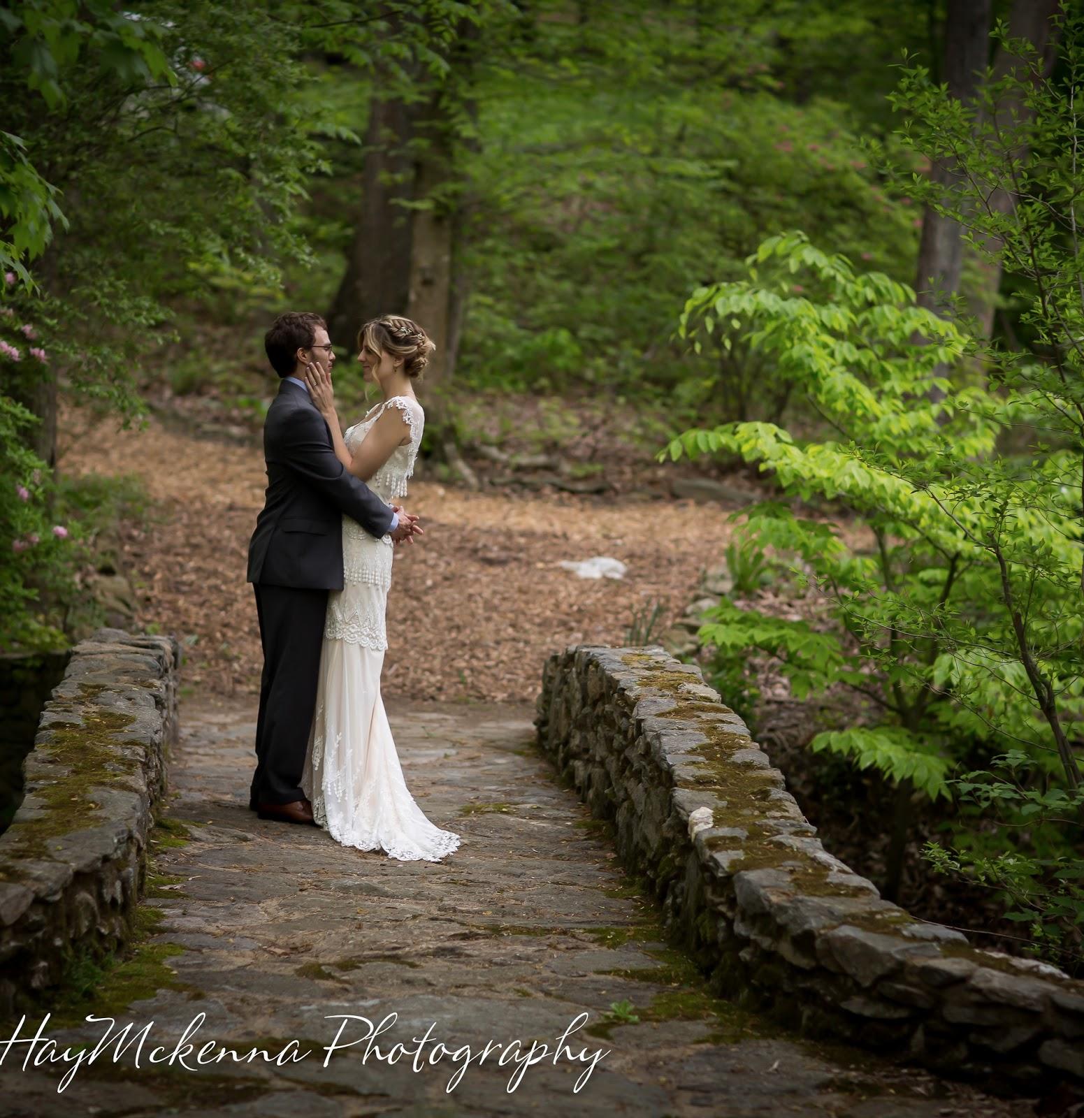 HayMckenna Photography: Outdoor Wedding in the Woods at ...