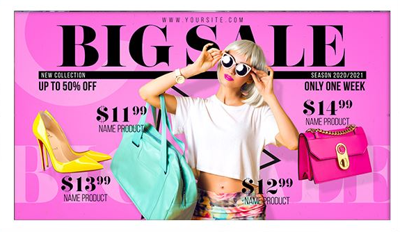 Projects – VideoHive – Fashion Sale – Store Promo – 28304634 [AEP]