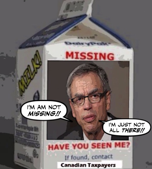 Montreal Simon: Why Is The Con Clown Joe Oliver Missing In