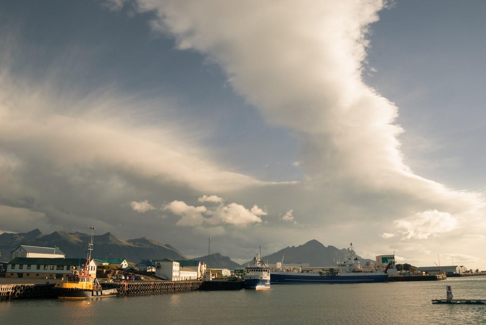 Islandia- z południa na północ wyspy.