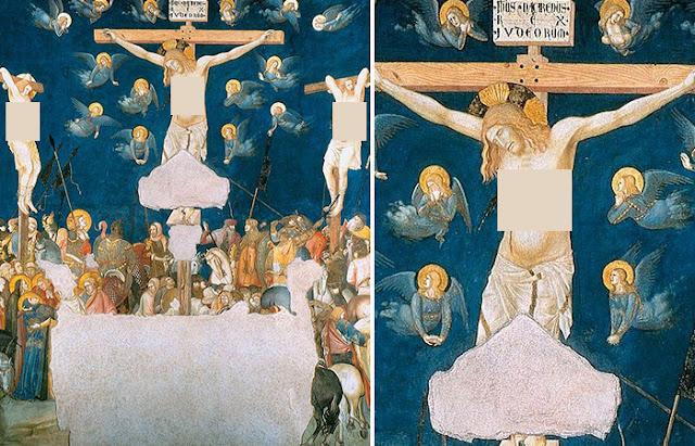 A crucificação Pietro Lorenzetti