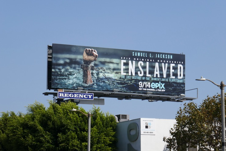 Enslaved Epix series billboard