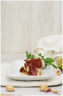solomillo de cerdo con nata y bacon canapes con perlas de aceite solomillo de cerdo al horno