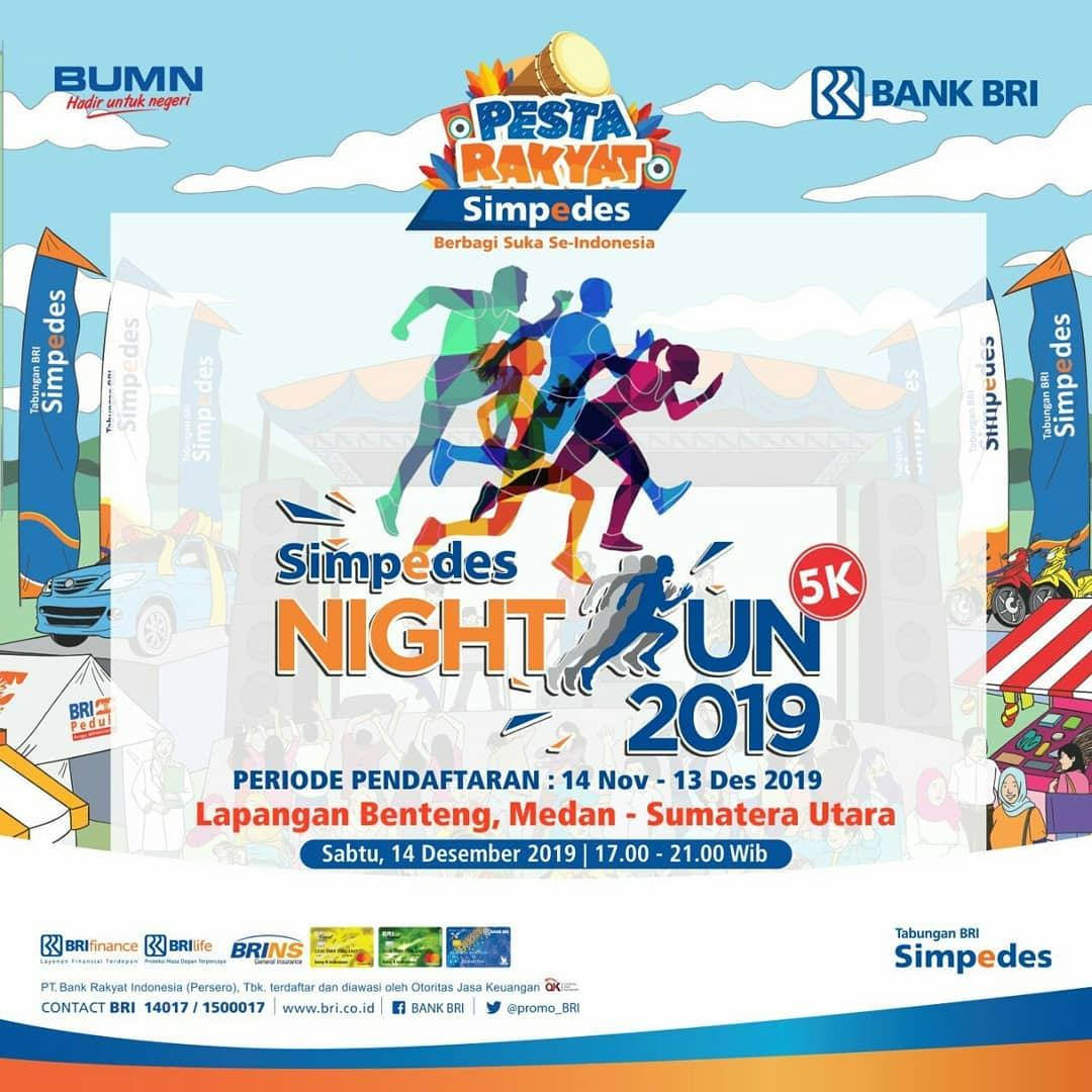 Simpedes Night Run - Medan • 2019