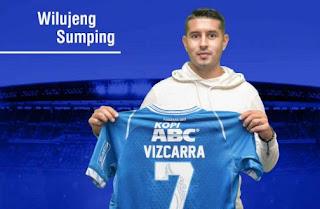 Esteban Vizcarra Ingin Bawa Persib Bandung Juara