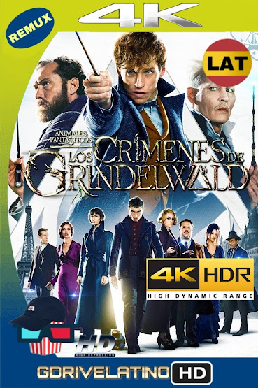 Animales Fantásticos: Los Crímenes de Grindelwald (2018) BDRemux 4K HDR Latino-Ingles MKV