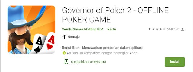 Game Poker Offline Bertema Cowboy