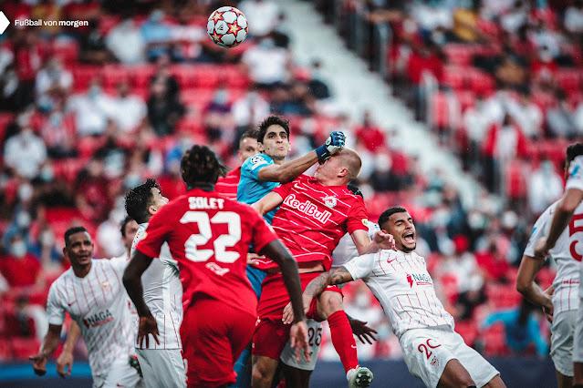 ملخص واهداف مباراة اشبيلية وسالزبورج (1-1) دوري ابطال اوروبا