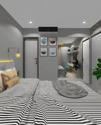 Interior Kamar Tidur by Griya Bagus Arsitek