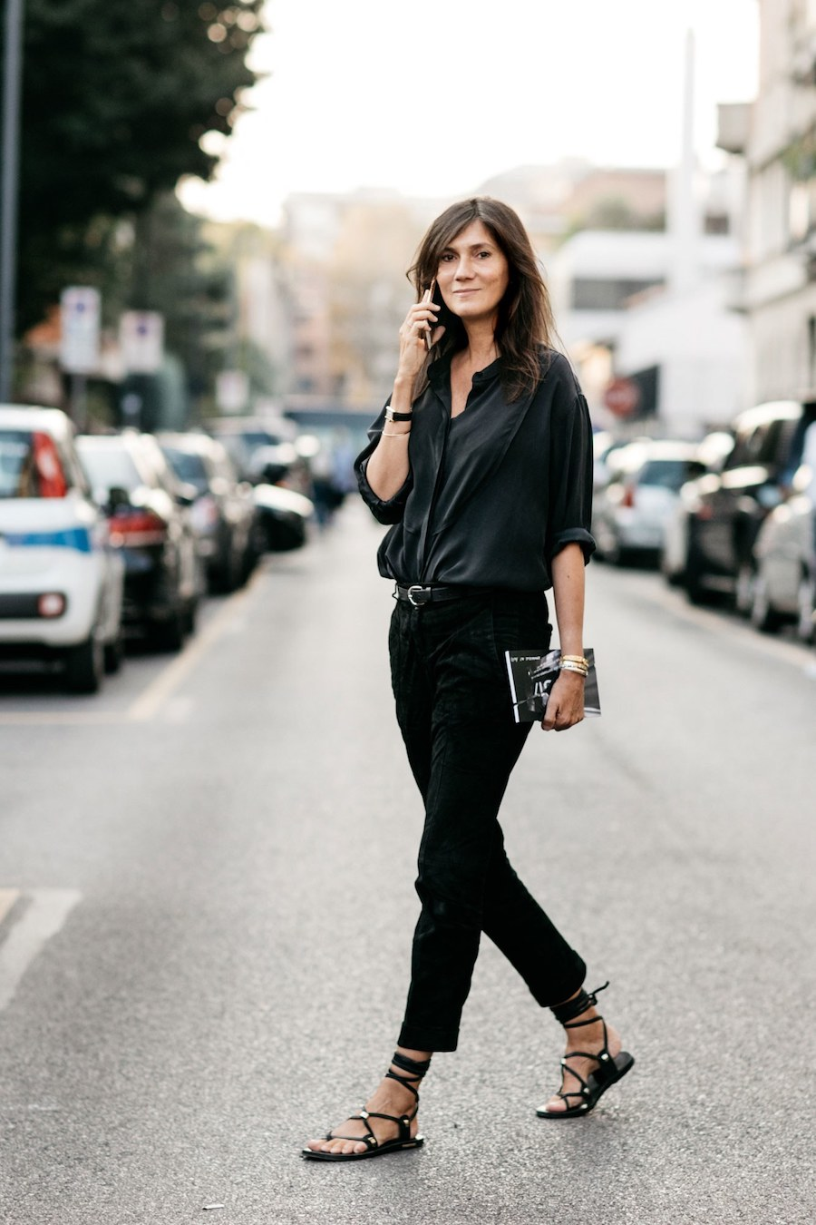 The French Girl Way to Wear an All-Black Summer Outfit