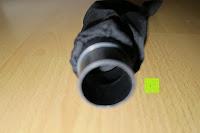 Öffnung: Defort DEP-900-R Elektrohobel 900 W, Falzfunktion, Spanauswurfsystem