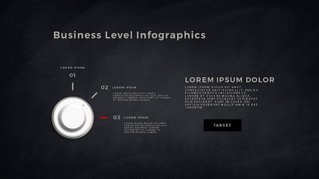 Business Level Infographics Free PowerPoint Template Slide 6