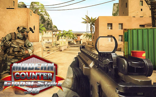 Download Modern Counter Global Strike 3D Mod Apk Game