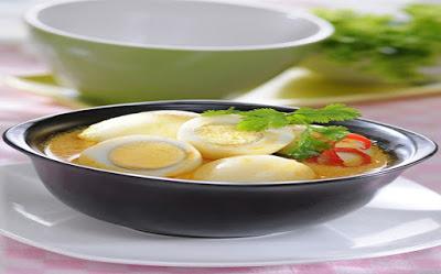 Gulai Telur ala Masakan Padang yang Gurih dan Kaya Rempah, Cocok untuk Sahur