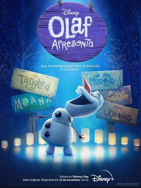 FROZEN | Curtas animados estrelados por Olaf chegam direto em streaming