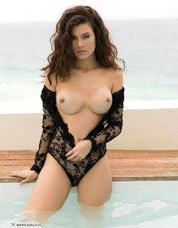 Natália Subtil Revista Playboy México julio 2016